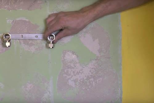 montar placa o soporte para el nuevo grifo