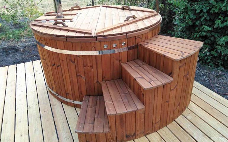Cómo construir una bañera japonesa