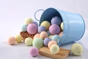 bolas de jabón para la bañera
