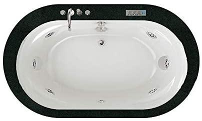 Jacuzzi Opalia Stone bañera de hidromasaje empotrada 9F43506