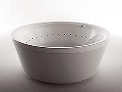 Zucchetti Kos Geo bañera de hidromasaje de pié 1G1T8BI0CR-Blower+Idrocolore