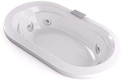 Jacuzzi Duo Pro Corian bañera de hidromasaje empotrada THE50341500