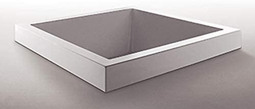 Zucchetti Kos Grande Quadra bañera de hidromasaje empotrada 1GQA8BI0CR-Blower+Idrocolore