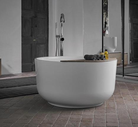 bañera redonda