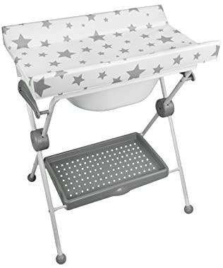 Plastimyr Bañera plegable Lea - Bañera plegable, color Bañera Plegable Estrella Fondo Blanco