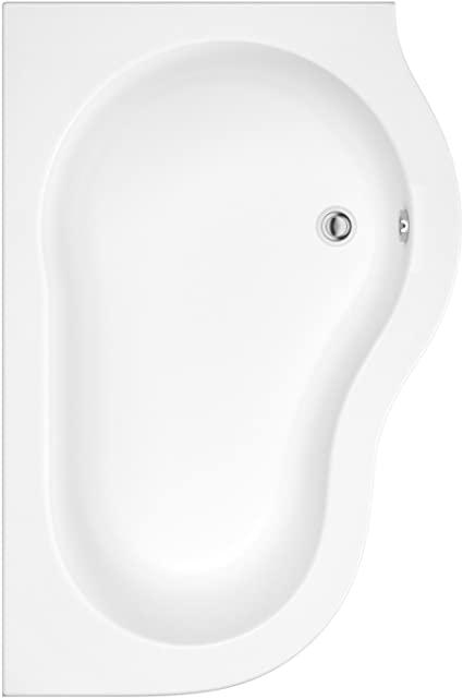Bañera Angular Acrílica Versión Derecha 150x100cm con Faldon