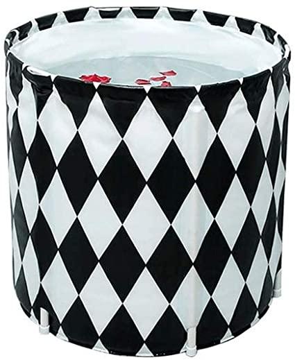 LXDHX Adulto Bañera, Bañera Plegable, de Estilo japonés Bañera, Bañera de hidromasaje, Bañera de los hogares, tamaño 70x70 cm - bañera Inflable