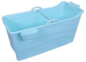 bañera de plástico