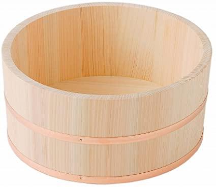 Hinoki Oke - Bañera de madera (240 mm)